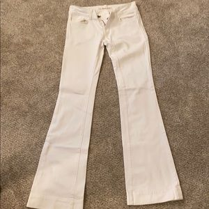 J Brand Flared White Denim